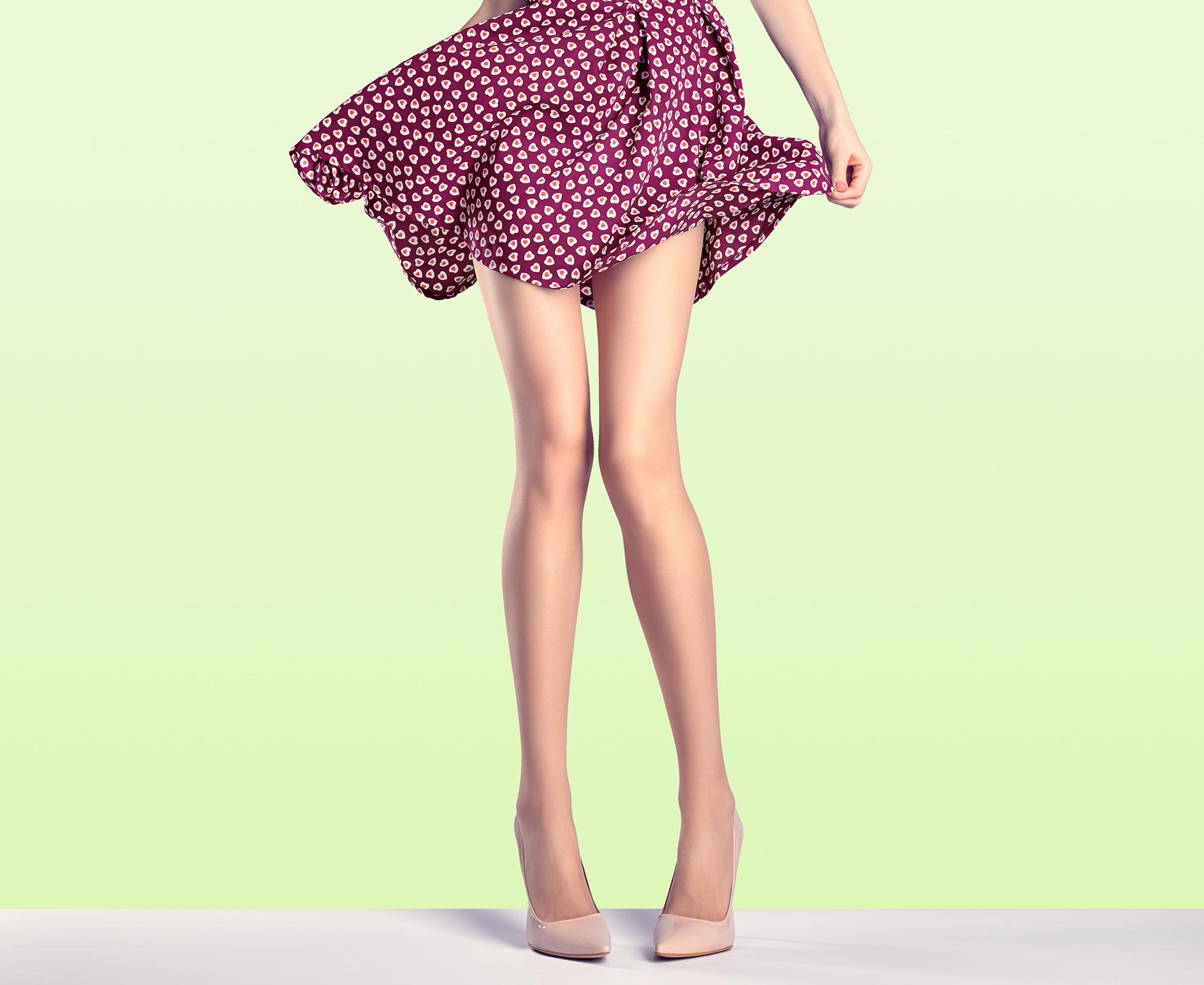 Szczupłe nogi, ilustracja do artykułu o butach do chudych nóg
